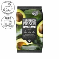FARMSKIN Soothing Avocado Facial Cleansing Wipes (Superfood)