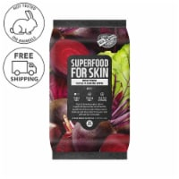 FARMSKIN Brightening Beet Facial Cleansing Wipes (Superfood)