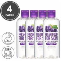 FARMSKIN 4 Set Grape Cleansing Water For Sensitive Skin (Freshfood)