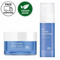 She's Lab Hyaluronic Acid Iceland Aqua Cream & Serum Set - One Size