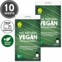 She's Lab 10 Packs Rich Nutrition Moringa Vegan  Masks - One Size