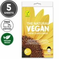 She's Lab 5 Packs Hydrating Sun Flower Vegan Masks - One Size