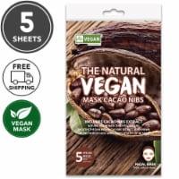She's Lab 5 Packs Vitalizing Cacao Nibs Vegan Masks