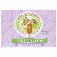 Tierra Mia Organics Body Soap Bar Lavender
