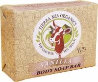 Tierra Mia Organics Body Soap Bar Vanilla - 3.8 oz