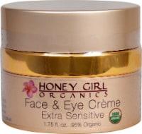 Honey Girl Organics  Face and Eye Creme Extra Sensitive