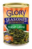 Glory Foods Seasoned Southern Style Turkey Flavored Turnip Greens