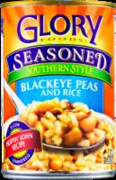 Glory Seasoned Southern Style Blackeye Peas and Rice