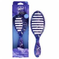 Wet Brush Speed Dry Stellar Skies Brush  Violet Skies Hair Brush 1 Pc