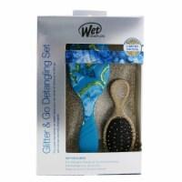 Wet Brush Pro Glitter and Go Detangling Kit  #  Gold 3pcs - 3pcs