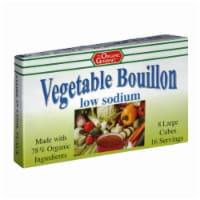 The Organic Gourmet Vegetable Bouillon Low Sodium - 2.54 Oz