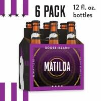 Goose Island Matilda Beligan Style Ale Beer 6 Bottles