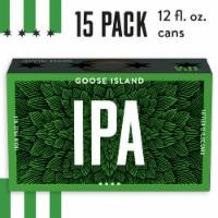 Goose Island IPA Beer - 15 cans / 12 fl oz