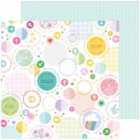 """Keeping It Real Double-Sided Cardstock 12""""X12""""-A Little Chaos - 1"""