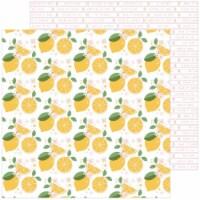 Some Days Double-Sided Cardstock 12 X12 -Make Lemonade - 1