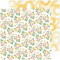 Some Days Double-Sided Cardstock 12 X12 -Fresh Flowers - 1