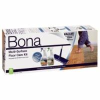 Bona  16.5 in. W Dry/Wet  Floor Care Kit - Case Of: 1; - 1