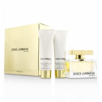 Dolce & Gabbana The One 2.5oz EDP Spray, 1.6oz Perfumed Body Lotion, 1.6oz Perfumed Shower Ge