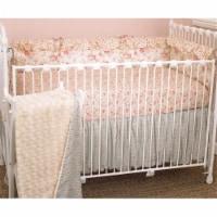 Cotton Tale TP4S Tea Party 4 Piece Crib Bedding Set - 4