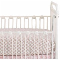 Danica DBA Cotton Tale SWST Sweet & Simple Pink Fitted Crib Sheet - 1