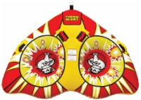 AIRHEAD AHTB-12 Turbo Blast Inflatable Double Rider Towable Lake Boat Water Tube - 1 Unit