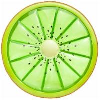 "Sportsstuff Fruit Series 62"" Inflatable Kiwi Swimming Pool Water Float, Green - 1 Unit"