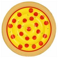 "Sportsstuff Food Series 62"" Inflatable Pepperoni Pizza Swimming Pool Water Float - 1 Unit"