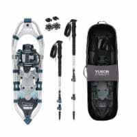 Yukon Charlie's National Park 8 x 25 Inch Women Snowshoe Kit with Poles and Bag - 1 Piece