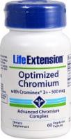 Life Extension Optimized Chromium with Crominex® 3+ 500mcg
