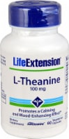 Life Extension L-Theanine Vegetarian Capsules 100 mg - 60 ct