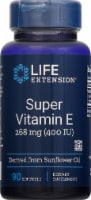 Life Extension Natural Vitamin E Dietary Supplement Softgels 268mg