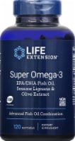 Life Extension Super Omega-3 Advanced Fish Oil Combination Softgels
