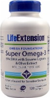 Life Extension  Super Omega-3 EPA-DHA with Sesame Lignans & Olive Extract