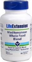 Life Extension Mediterranean Whole Food Blend Vegetarian Capsules