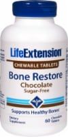 Life Extension Chocolate Bone Restore Chewable Tablets