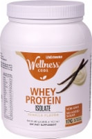Life Extension Wellness Code Vanilla Whey Protein Isolate Powder