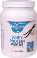 Life Extension Vanilla Wellness Code Whey Protein Concentrate Powder