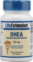 Life Extension DHEA 50mg Capsules - 60 ct