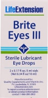 Life Extension Brite Eyes III Sterile Lubricant Eye Drops
