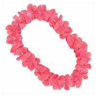 Blinkee A5060 Hawaiian Flower Lei Necklace, Pink - 1
