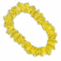 Blinkee A6020 Hawaiian Flower Lei Necklace, Yellow