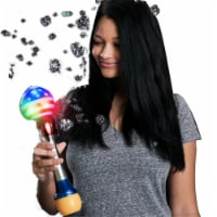 Blinkee 12LUFWBH-USA 12 in. Light Up USA Flag Globe Bubble Wand, Multi Color