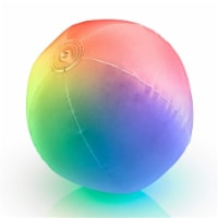 Blinkee LUPORJS-32 32 in. Multi Color Inflatable Light Up Beach Ball