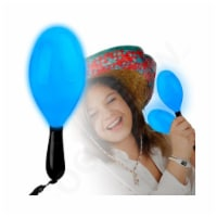 Blinkee MACARA7-BLUE 7 in. Light Up Blue Maraca - 1