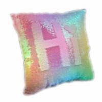Blinkee LMRSP-RNW LED Magic Reversible Sequin Pillow - 1