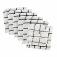 DII Black Scrubber Dishcloth (Set of 6) - 1