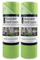 DII Green Dots Shelf Liner (Set of 2)