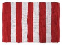 Dii Red/White Stripe Rag Rug 2X3-Ft - 1