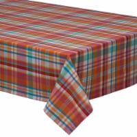 DII Tablecloth Sherbert Plaid - 1