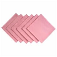 Design Imports CAMZ37396 Pink Sorbet Napkin - Set of 6